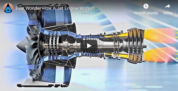 Jak funguje tryskový motor