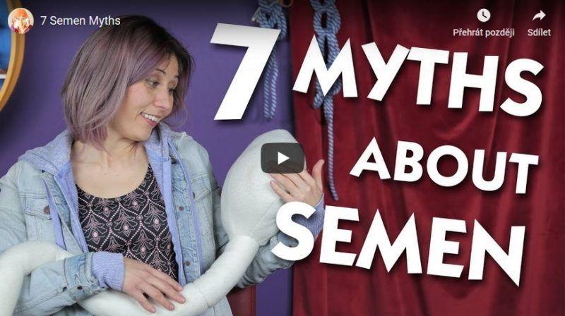 7 mýtů ohledně semene
