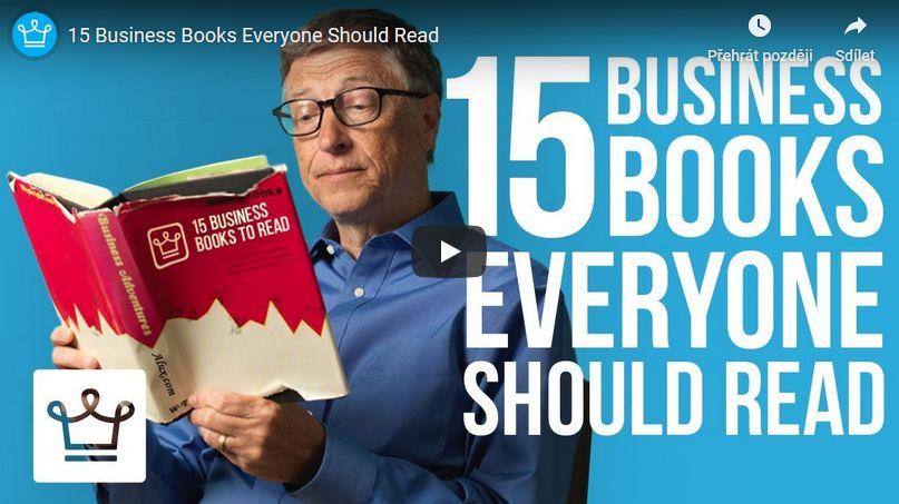 15 kniho o byznysu, které by si měl přečíst každý I